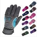 5-10Y Kids Winter Warm Gloves Children Boys Girls Ski Cycling Climbing Outdoor Gloves Waterproof TQ055