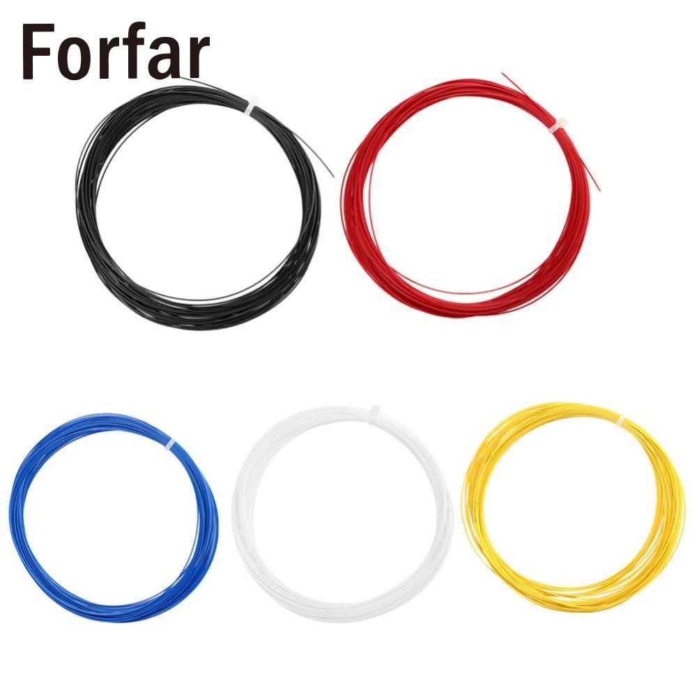 Forfar Nylon Carbon Elastic Durable Badminton Tennis Ball Trainning Sport Racket String