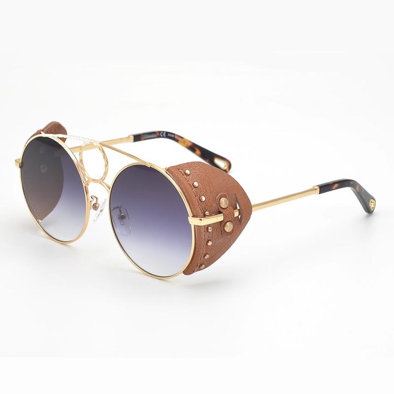Fashion Luxury Brand Designer Round Women Sunglasses Polarized Sunglasses UV400 Protection Oculos De Sol