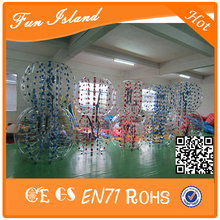 Free Shipping PVC Inflatable Bumper Material 1.5m Diameter Bubble Soccer Balls Loopyball For Sale ,Human Zorb