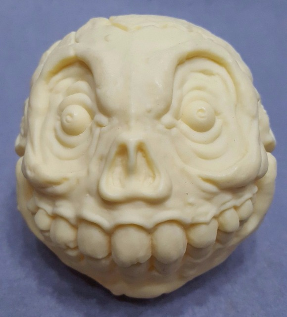 US $14 99 |NO BOX TCFC 2016 Mad Balls Madballs Series SKULL FACE Amtoy  Prototype Test Sample-in Action & Toy Figures from Toys & Hobbies on