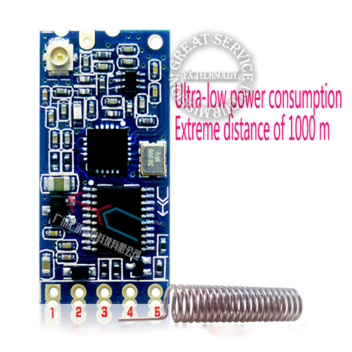 Hc-12 HC-12 SI4463 433 wireless serial port module low power consumption 1000m bluetooth