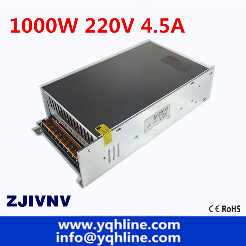 Factory 1000W Switching Power Supply output 220v 4.5a Transformer AC TO DC SMPS for LED Light CNC StepperFactory 1000W Switching Power Supply output 220v 4.5a Transformer AC TO DC SMPS for LED Light CNC Stepper