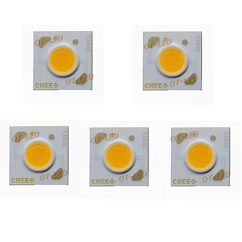 5pcs/lot Cree XLamp CXA1304 Led CXA 1304 3.7-10.9W COB EasyWhite 5000K Warm White 2700K LED Chip Emitter Light