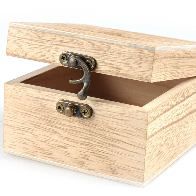 BOBO BIRD caja de madera de bambú para reloj, caja de joyería, caja de almacenamiento cuadrada de calidad para joyería