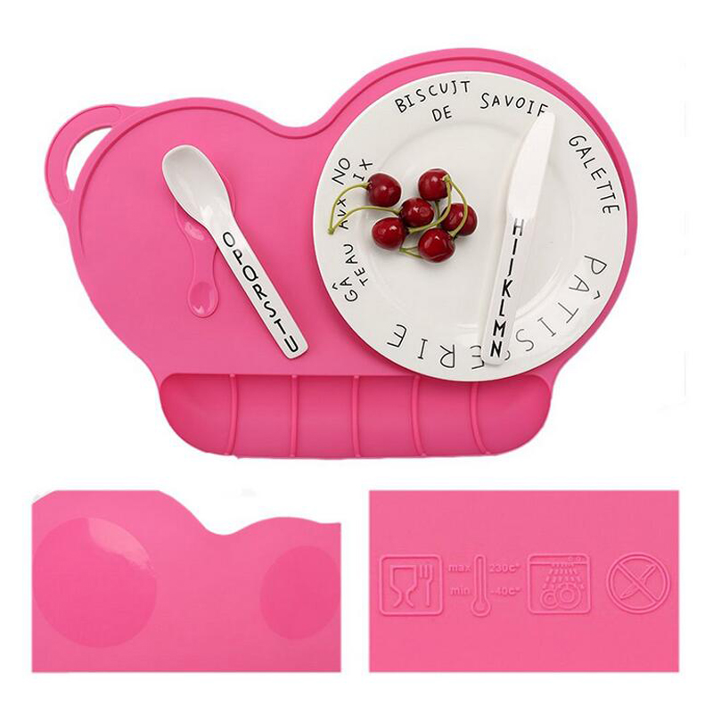Baby Silicone Placemat For Dinner Table Children Placemat Non Slip Kitchen Table  Mats Table Decor Accessories Home Kitchen Pad In Dishes U0026 Plates From Home  ...