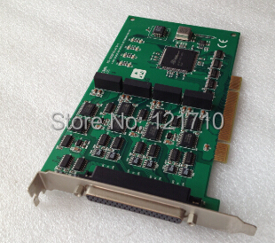 Industrial equipment board PCI-1610CU REV.A1 01-1 4-PORT ISOLATED HIGH SPEED RS-232 COMMUNICATION CARD