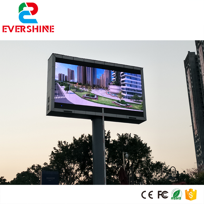 high quality Fixed installation billboard digital Full Color P8 outdoor led display smd3535 waterproof led sign p7 outdoor dip full color led panel display module high resolution high brightness high refresh high quality