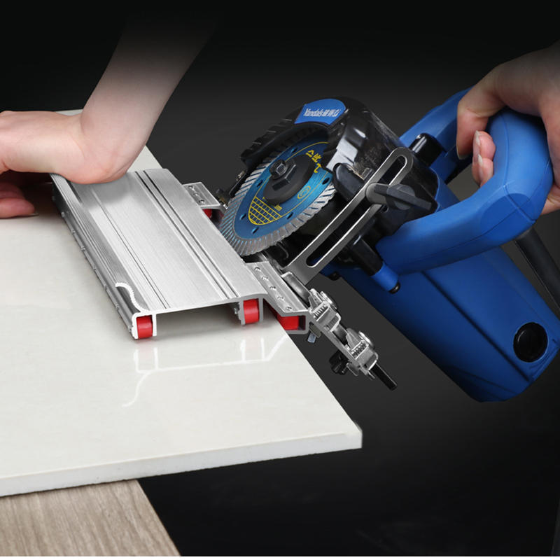 Tiling 45 Degree Angle Cutting Helper Tool Tiles Exposed Outside Corner Construction Tool For Stone Cutting Machine