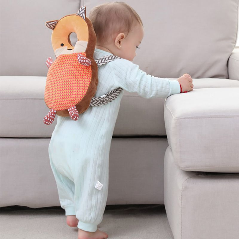 2019 New Baby Toddler Backpack Head Protective Pillow Adjustable Infant Safety Pads For Baby Walkers Protective