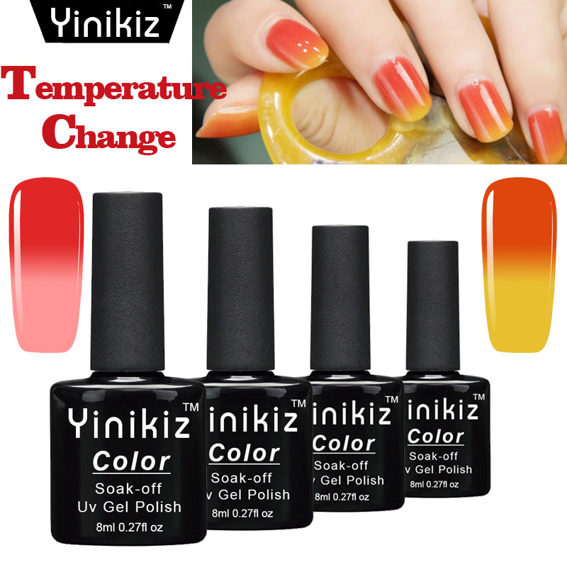 Yinikiz Glass Temperature Change Magic Color Nail Polish