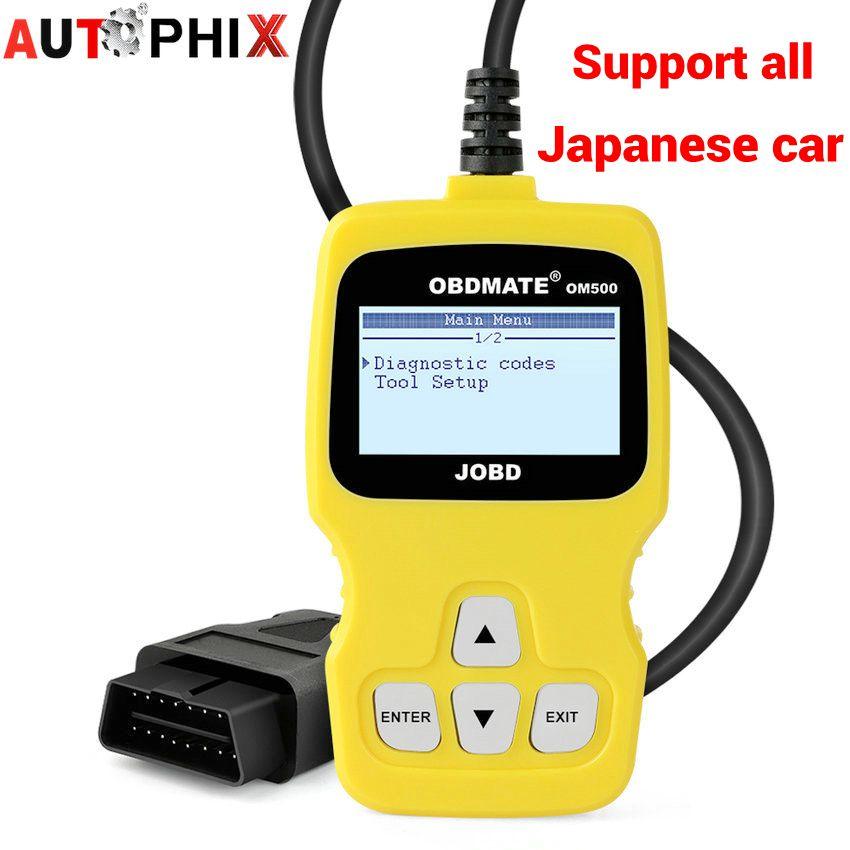 Prix pour OM500 Auto Faute Code Lecteurs JOBD OBD2 Automobile De Diagnostic Scanner OBD2 Détecteur De Voiture Outil De Diagnostic pour Voiture Japonaise
