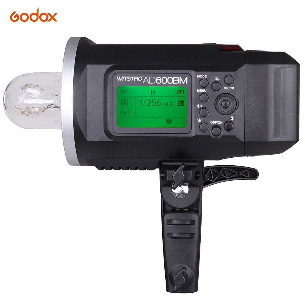 Flash Godox WITSTRO AD600BM Flash stroboscopique 600WS GN87 HSS 1/8000 s 2.4G sans fil Flash X système avec batterie Li-ion 8700 mAh