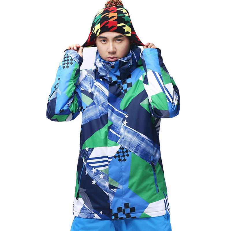 Prix pour 2016 homme gsou snow ski snowboard veste coupe-vent imperméable à l'eau chaude en plein air sport manteau mâle équitation camping randonnée vêtements