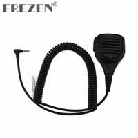 talkie walkie מיקרופון רמקול אטים לגשם Shoulder מיקרופון Talkie Walkie רמקול ומיקרופון 1 פין עבור YAESU VX ורטקס-1R / 2R / 3R / 5R / VX168 / VX160 / FT60R שני הדרך רדיו (1)