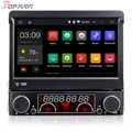 7'' Single Din Quad Core Android 5.1 Car Navigation For Universal With DVD Multimedia Radio 16GB Flash Mirror Link Free Shipping