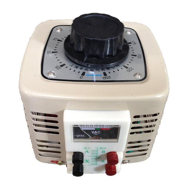 1000W 1KVA Voltage regulator household single phase variac 0 250v ...
