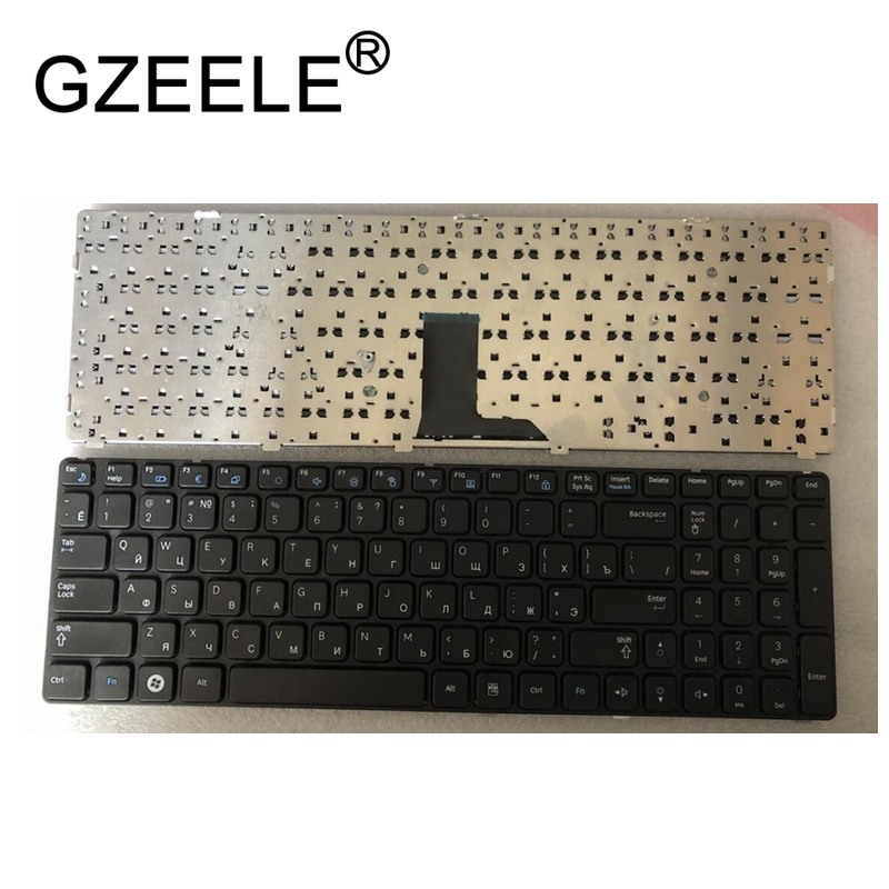 GZEELE Russian Keyboard for Samsung NP-R578 NP-R580 NP-R590 NP-E852 NP R578 R580 R590 E852 NPR578 NPR580 NPR590 NPE852 RU black цена