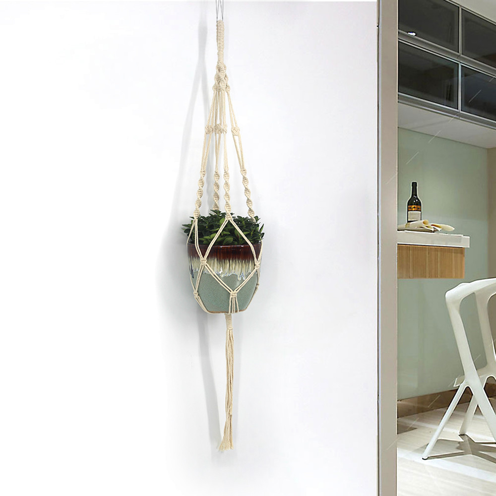 Hanging Basket for Green Plants Pot Culture Home ... on Decorative Wall Sconces For Flowers Hanging Baskets Delivery id=39871