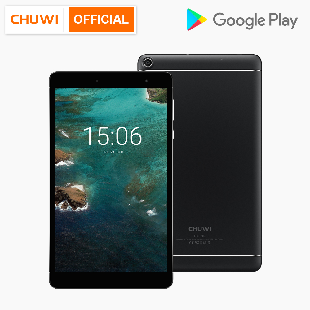 CHUWI Hi8 SE MTK8735 Quad Core Android 8.1 Tablets 2GB RAM 32GB ROM Dual Camera Dual WIFI 2.4G/5G 8 inch 1920*1200 Tablet PC