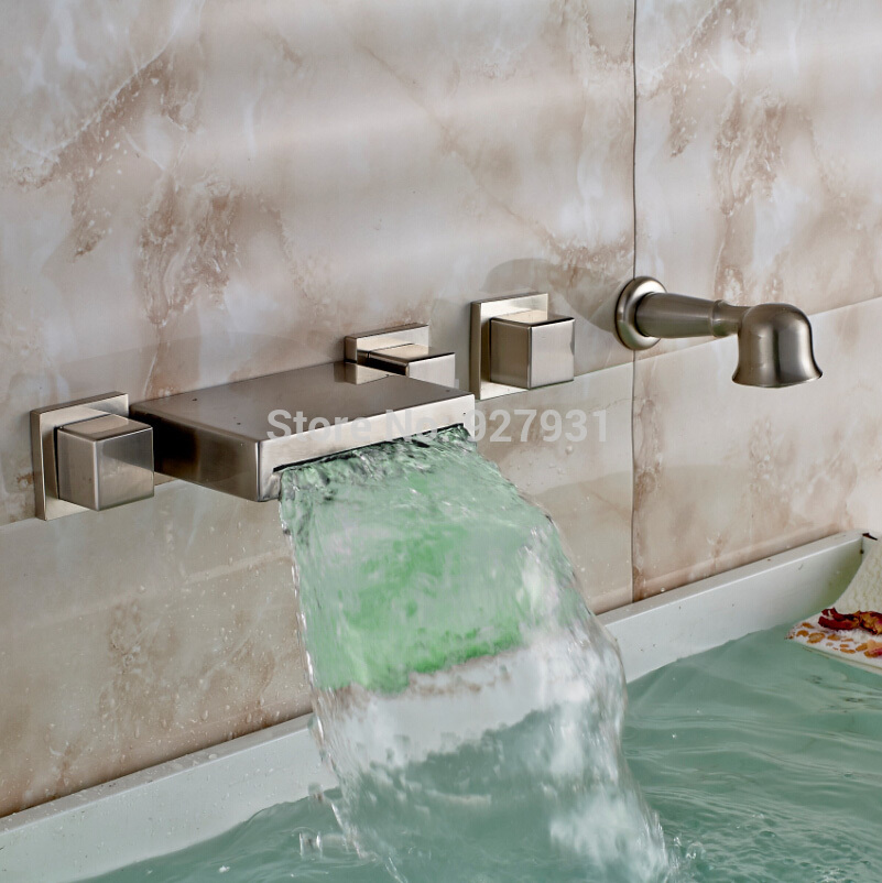 Waterfall Faucets For Tubs - Waterfall Faucet Bathroom Waterfall ...