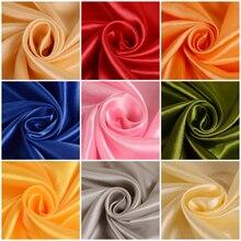 Satin fabric silk