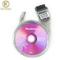 Verde PCB Ferramentas De Diagnóstico Com O Chip FT232RL para BM W INPA/Ediabas K + DCAN Interface USB D-CAN CAN Leitor de Digitalização OBD OBD2 cabo