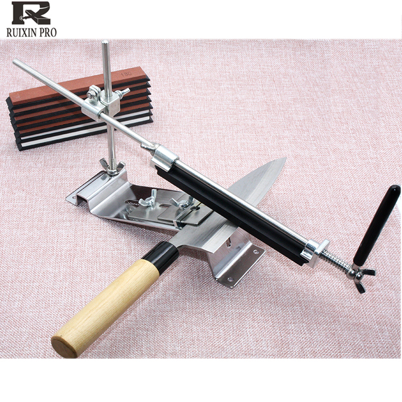 ruixin pro Fixed angle knife sharpener sharpening 120 3000 grit corundum diamond whetstone oil stone honing