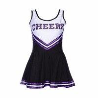 Girls Cheerleader Uniform School Girl Costume Feme Fancy Dress Costume Costume Cheerleader Sexy Costumes