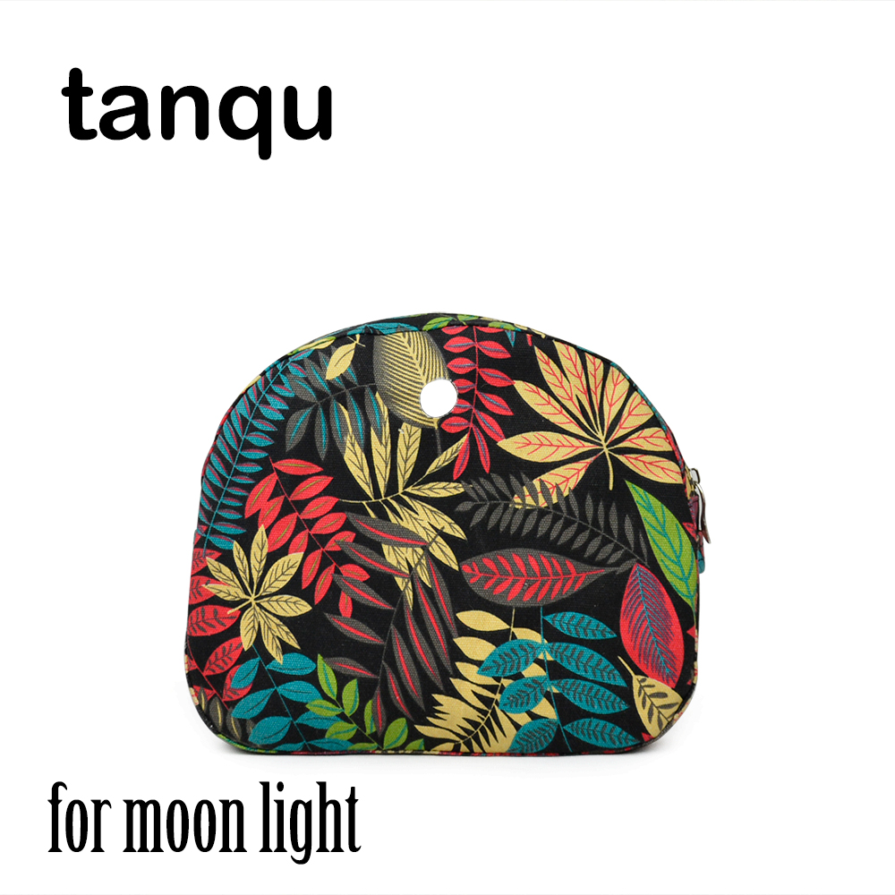 Tanqu Inner Pocket Lining For Omoon Light Obag Floral Waterproof Canvas Fabric Handbag Insert Organizer For O Moon Baby O Bag