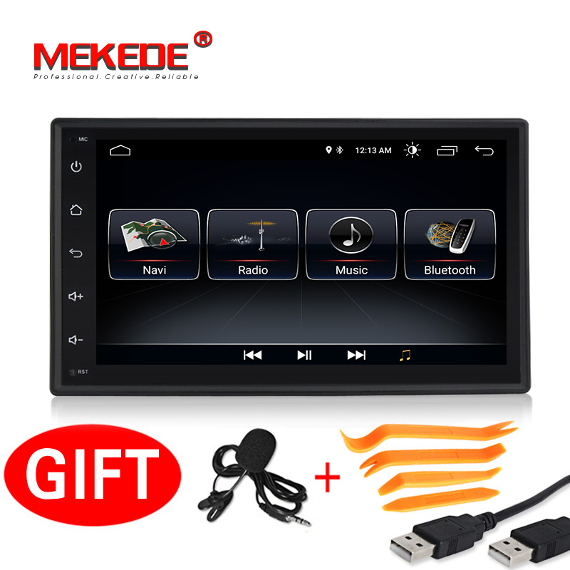 New model!MEKEDE Universal Android 8.1 Car GPS DVD player for Nissan V/W Toyota Peugeot KIA car Multimedia with wifi 4G SWC navi-in Car Multimedia Player from Automobiles & Motorcycles    2