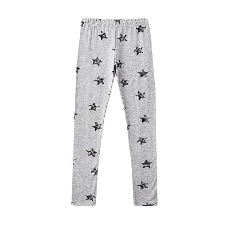 Leggings MODIS M182K00388 for girls kids clothes children clothes TmallFS asymmetrical ripped leggings