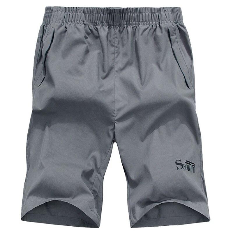 Shorts Hommes 2018 D'été Casual Hommes Courtes Mode Coton Mince Bermudes Masculina Plage Courtes Pantalon Genou Longueur Conseil Shorts SP002