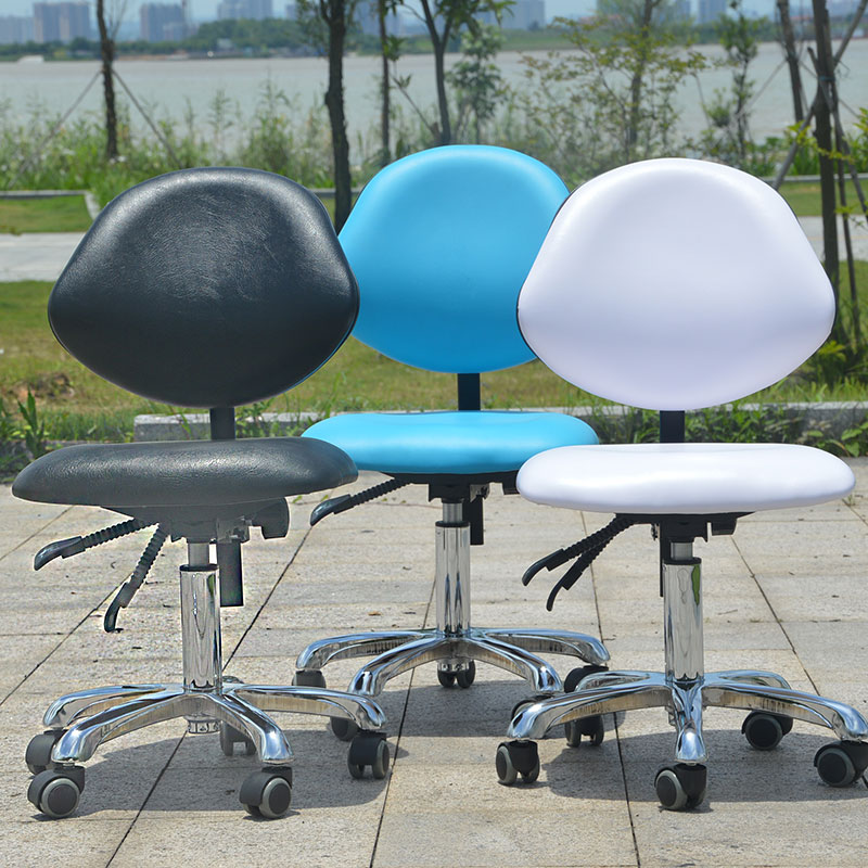 Rotated Tattoo Chair Lifted Haircut And Cosmetology Stool Adjustable Saddle-shaped Seat Manicure Chair Slidable Salon Furniture