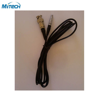 BNC Connector Lemo Connection Cable For Ultrasonic Flaw Detector(Q9 C5)