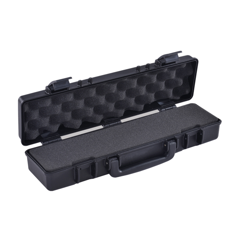 SQ1001 Plastic Flute Box With Handle And Latches,shockproof IP65 Rating Box