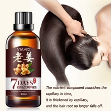 Hair Essential Oil Hair Care Oil Ginger Essence Hairdressing Hairs Mask Essential Oil Dry and Damaged Hairs Nutrition