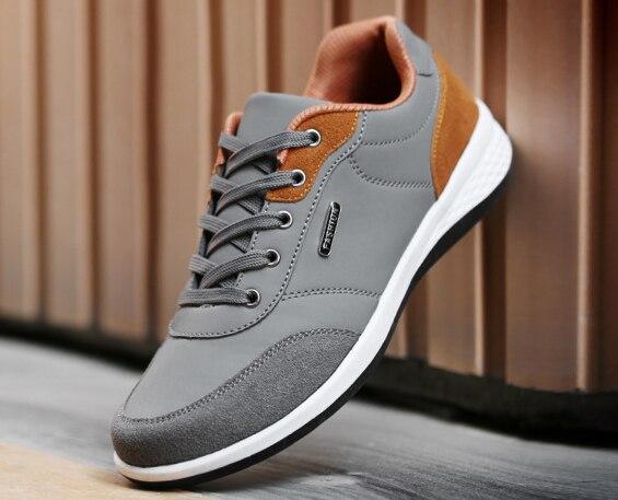 Мужская трендовая мужская обувь на осень и зиму, спортивная обувь на низком каблуке
