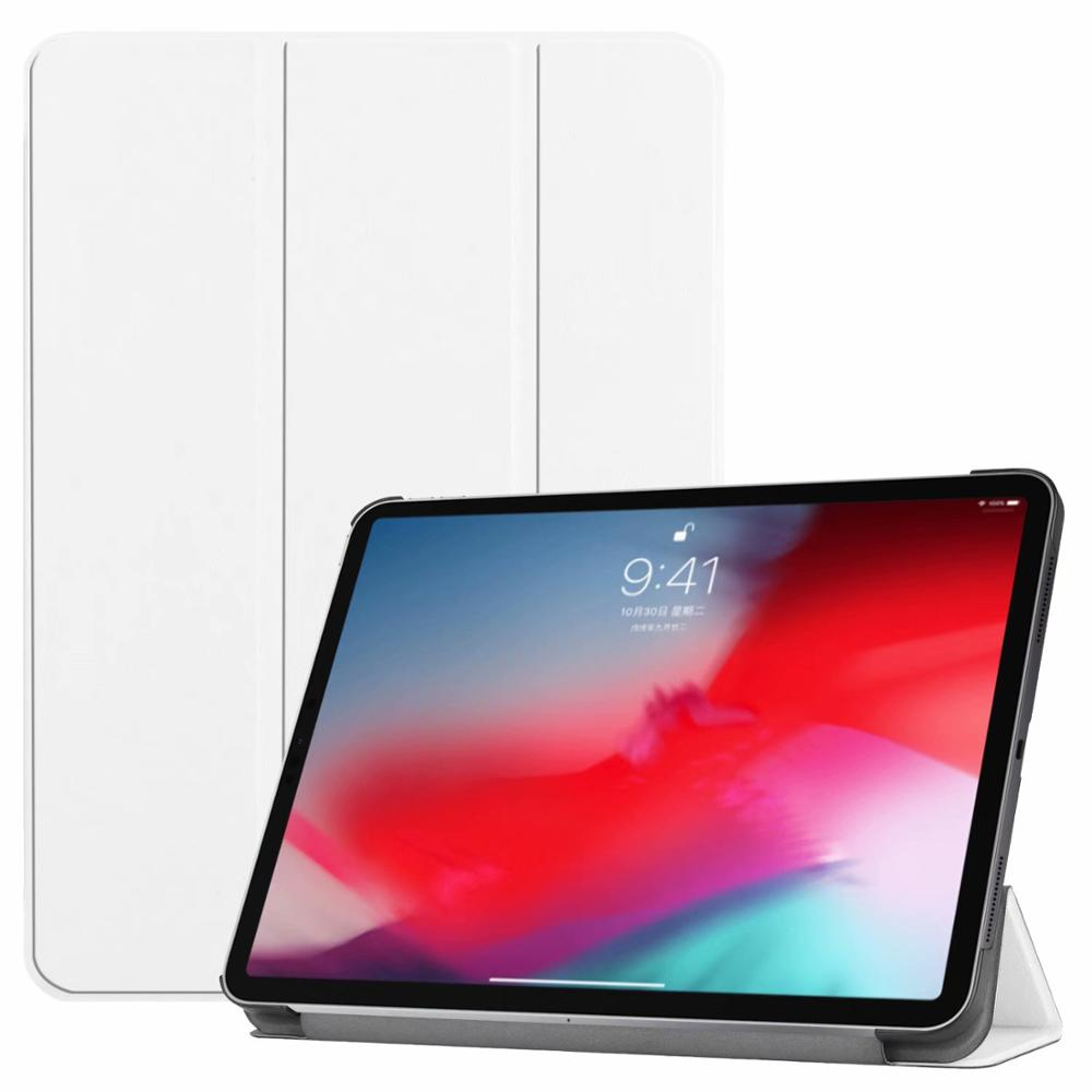 White iPad Pro3 11 2018 smart case with different patterns