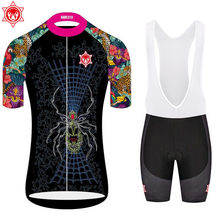 2018 Cycling Jersey Sets Women Cycling Clothing Set Breathable jerseys Bike Suit Bicycle Mountain Sportswear MTB Short Ropa Cicl(China)