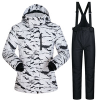 New Winter Womens Ski Jacket And Pant Waterproof Super Warm Suits For Women Ski Snowboard Skiing And Snowboarding Clothes Brands