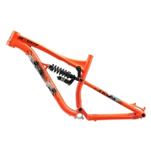 2018 Free rider alloy bicycle frame shock absorber rear shaft suspension XC cross country bike frame 27.5 ER DH bicycle parts baja 5b parts cnc 8mm alloy rear shock absorber free shipping 95223