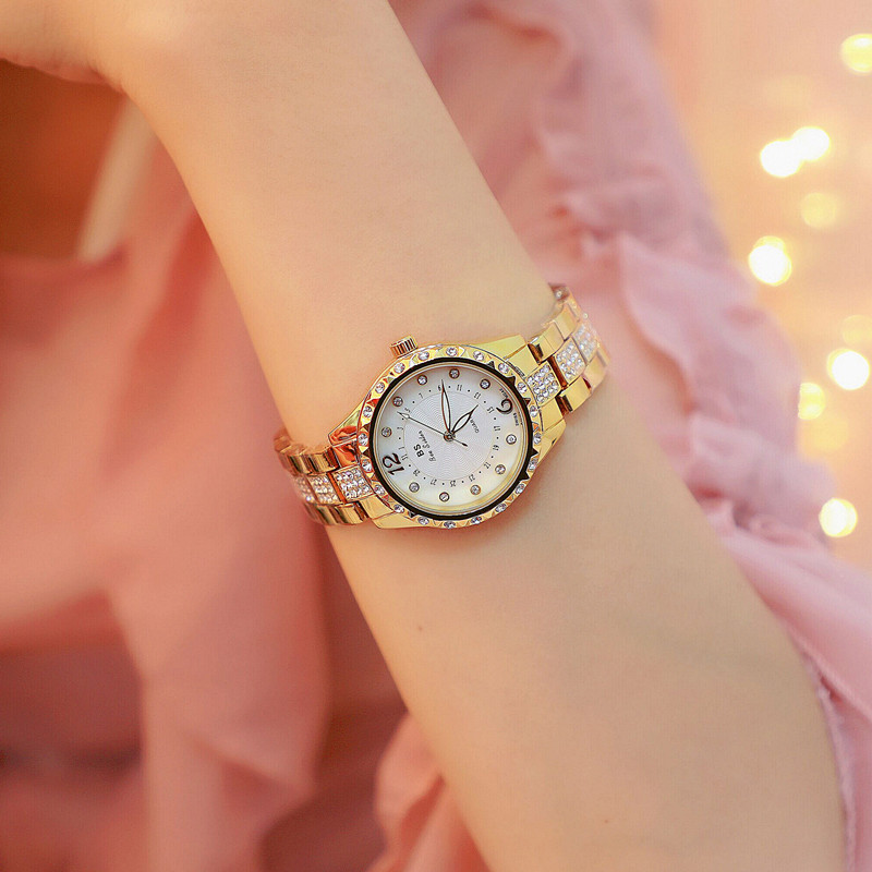 New Bee Sister Women Luxury Brand <font><b>Watch</b></font> Simple Quartz Lady Waterproof Wristwatch Female Fashion Casual <font><b>Watches</b></font> Clock reloj mujer image