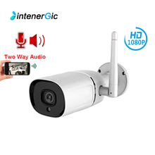 1080P Wifi IP Camera HD Outdoor Waterproof Two Way Audio Video Surveillance camera Infrared Night Vision Security ipcam ec60 wifi ip camera 1080p hd outdoor camera waterproof infrared night vision security video surveillance smart