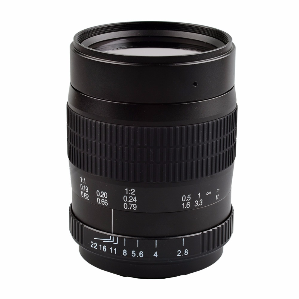 60mm f/2.8 2:1 Super Macro Manual Fixed Focus Lens for Cannon 1100D 550D 600D 750D 77D 80D Nikon D7200 D5200 D3200 D800 DSLR