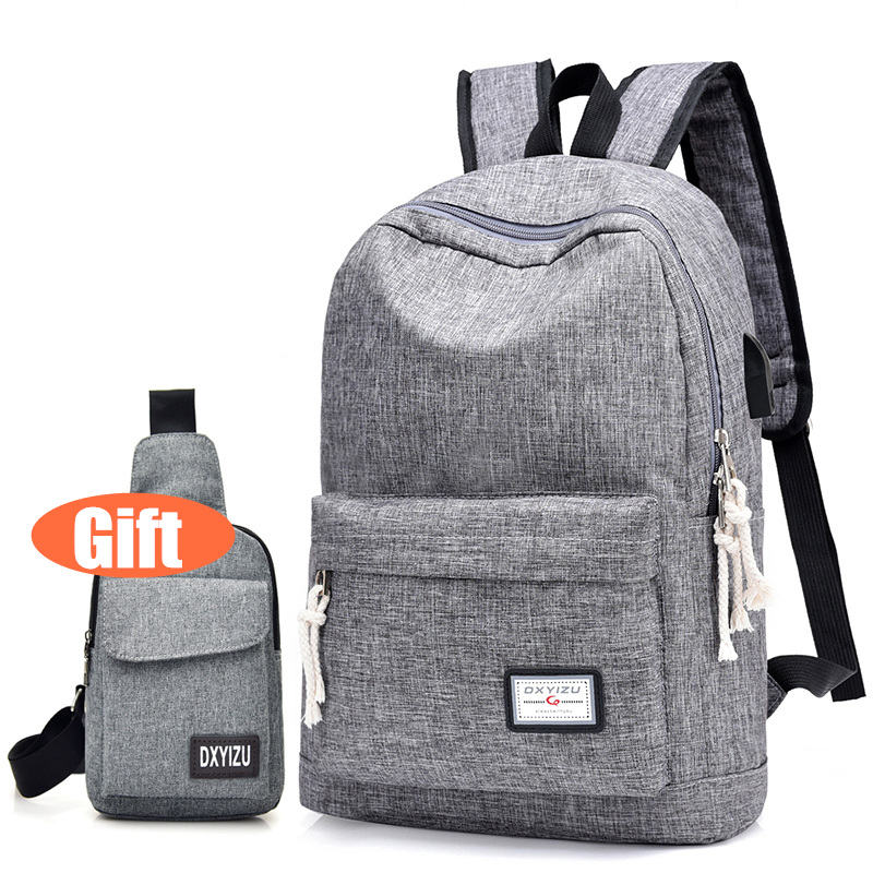 New Men Backpack Casual Fashion College Student School Backpacks Canvas Large Capacity Laptop Travel Backpacks Boy Book Bags tuguan brand fashion mesh pocket men backpacks school college student backpack bags for teenagers casual laptop daypack backbag