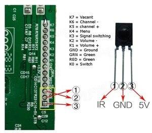 Image 3 - V59 LCD bordo di driver di trasporto incombusti di scrittura firmware LCD bordo di driver di trasporto di scrittura del firmware della scheda madre TV