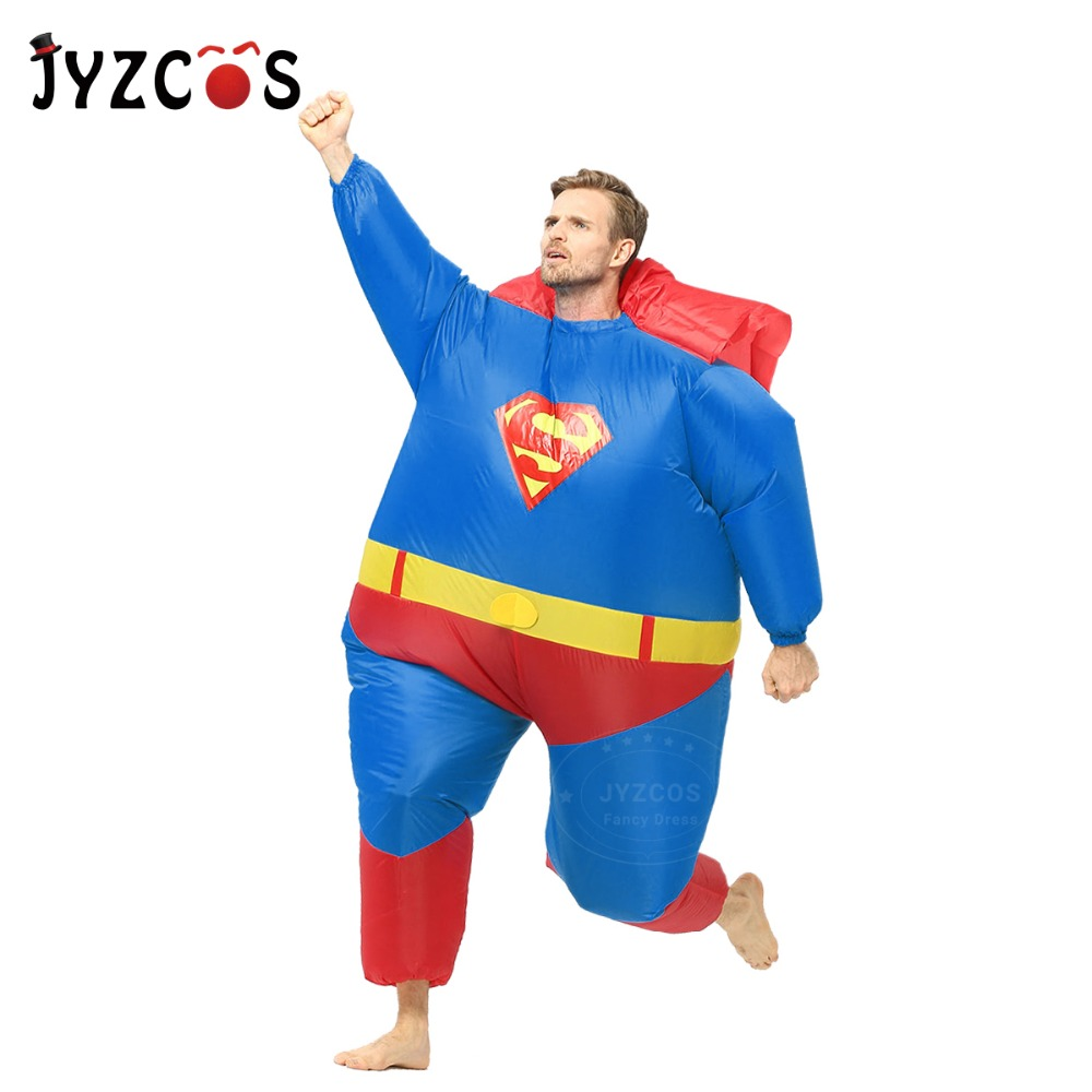 Adult Inflatable Superman Costume-2