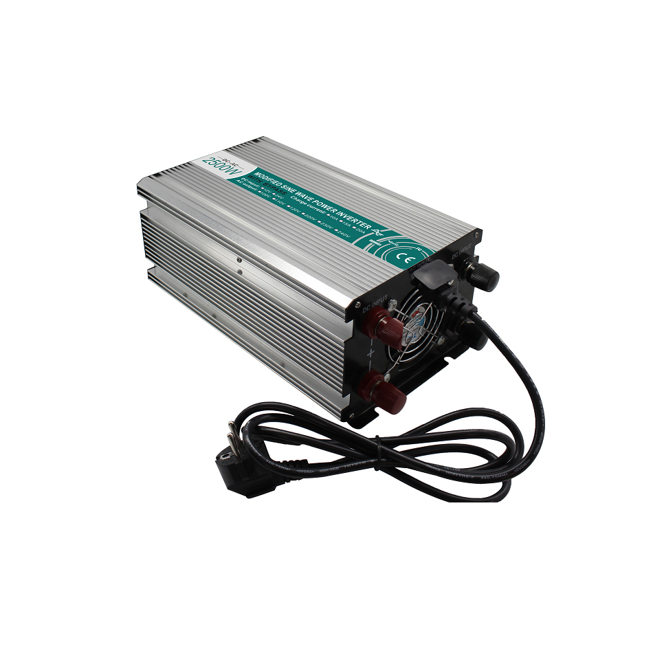 M2500 242G C high effi. 2500w 24vdc 220vac electric power inverter converter off grid type ups /home inverter with charger