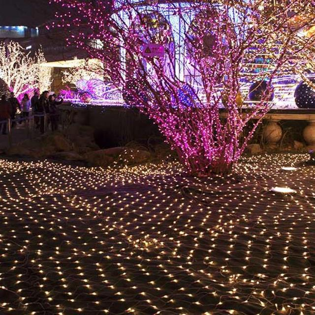 2m 3 meter 200led net lights mesh fairy lights outdoor garden 2m 3 meter 200led net lights mesh fairy lights outdoor garden christmas wedding decoration us mozeypictures Image collections